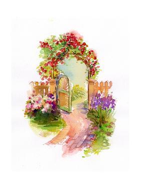 Garden Gate, 2014 by John Keeling