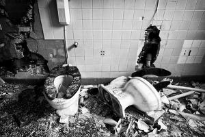 Broken Toilets by John Kershner