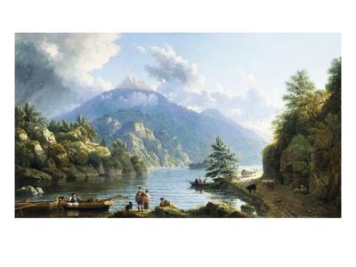Boatmen on Loch Katrine