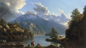 On the Shores of Loch Katrine by John Knox