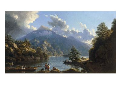 On the Shores of Loch Katrine