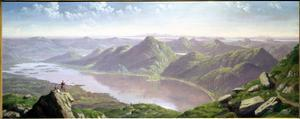 South-West View from Ben Lomond by John Knox