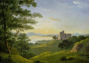 Sunset in the Western Highlands, C.1820 by John Knox