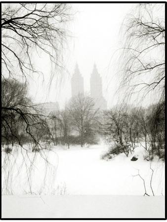 Central Park Snow by John Kuss