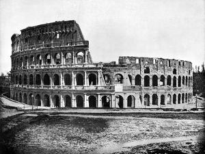 Exterior of the Colosseum, Rome, 1893 by John L Stoddard
