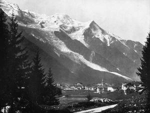 Mont Blanc from Switzerland, 1893 by John L Stoddard