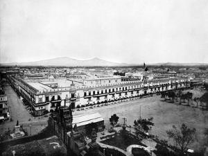 Panorama of the City of Mexico, 1893 by John L Stoddard