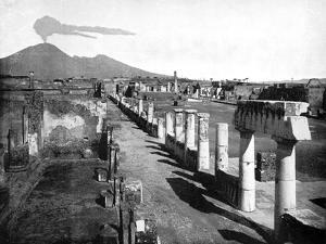 The Forum, Pompeii, Italy, 1893 by John L Stoddard