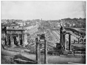 The Forum, Rome, Late 19th Century by John L Stoddard