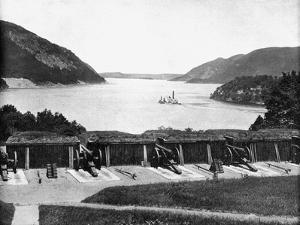 Up the Hudson River from West Point, New York, USA, 1893 by John L Stoddard