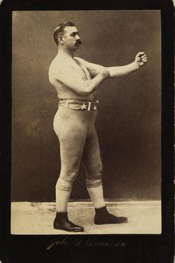 John L Sullivan (1858-1918)