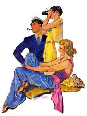 """The Newport Set,""June 27, 1931 by John LaGatta"