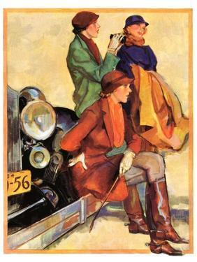 """Women in Riding Habits,""January 6, 1934 by John LaGatta"