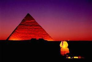 Giza, Egypt by John Lawrence