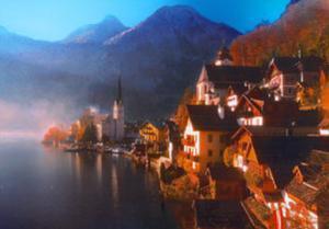 Halstatt, Austria by John Lawrence