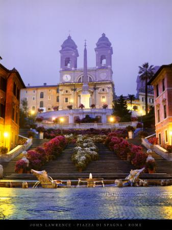 Piazza di Spagna - Rome by John Lawrence