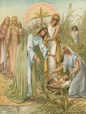 Moses in the Bullrushes by John Lawson