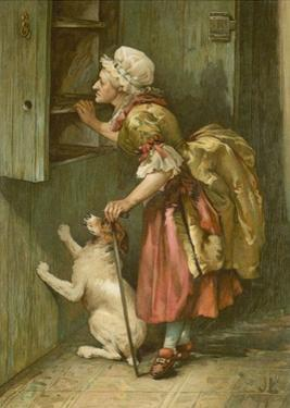 Old Mother Hubbard by John Lawson