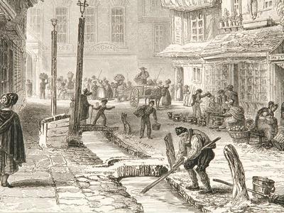 Minster Street in 1829