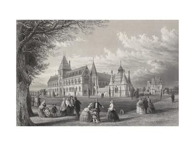 The University Museum: Oxford Almanack for 1860, 1860