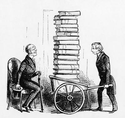 A Bibliophile by John Leech