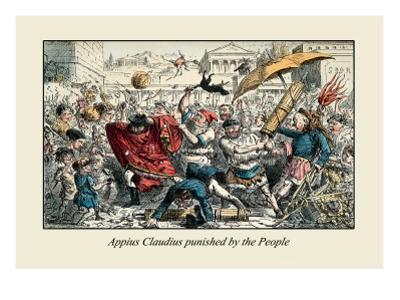 Appius Claudius Punished by the People by John Leech