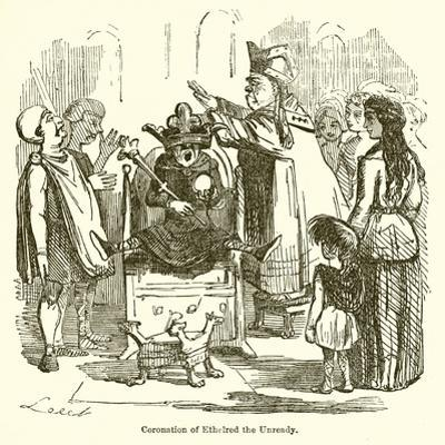 Coronation of Ethelred the Unready by John Leech