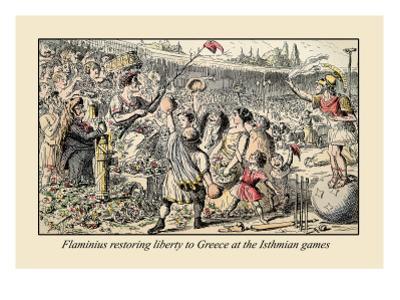 Flaminius Restoring Liberty by John Leech