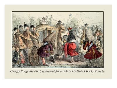 Georgy Porgy the First Going Off for a Ride by John Leech