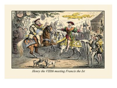 Henry the VIII Meeting Francis the First by John Leech