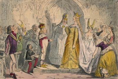 Marriage of Henry the Sixth and Margaret of Anjou, 1850 by John Leech