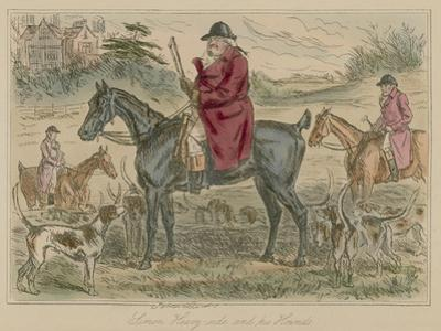 Simon Heavy-Side and His Hounds by John Leech