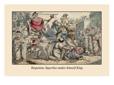 Tarquinius Superbus Makes Himself King by John Leech