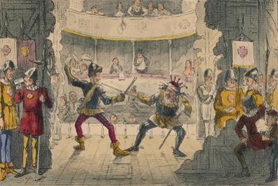 The Battle of Bosworth Field, a Scene in the Great Drama of History, 1850 by John Leech