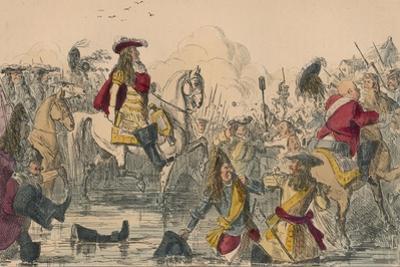 The Battle of the Boyne, 1850 by John Leech