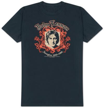 John Lennon - Crest - B Side Reverse Tee