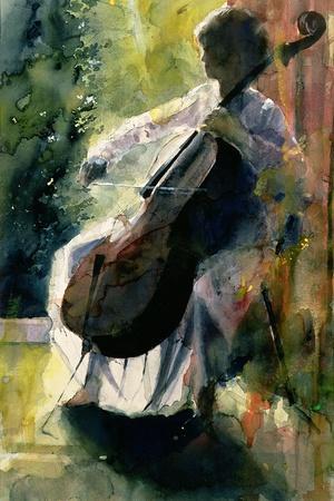 Anna Playing the Cello