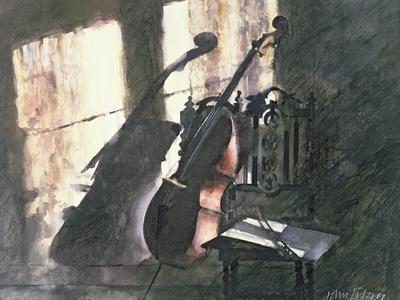 Cello in Sunlight