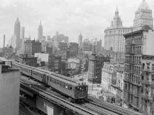 Third Avenue EL, New York, New York by John Lindsay