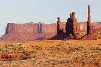 Arizona, Monument Valley, Yei Bi Chei and Totem Pole by John & Lisa Merrill
