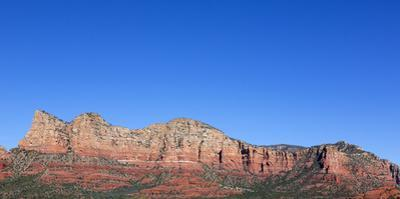 Arizona, Sedona, Red Rock Country, Gibraltar, Lee Mountain and Baby Bell by John & Lisa Merrill