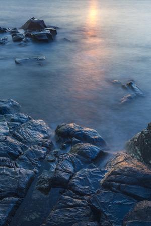 Dawn on Appledore Island, Maine. Isles of Shoals. by John & Lisa Merrill