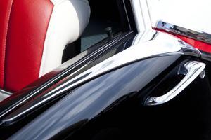 Detail at Classic Car Show, Kirkland, Washington, USA by John & Lisa Merrill