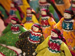 Fabric Dolls for Sale, Guanajuato, Mexico by John & Lisa Merrill