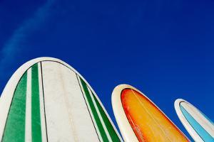 Mexico, Baja California, Baja de Sur, Cerritos Beach, surfboard rental shop. by John & Lisa Merrill