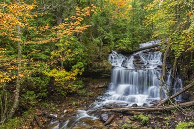 Michigan, Munising. Wagner Falls by John & Lisa Merrill