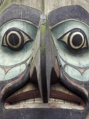 Totem Pole in Pioneer Square, Seattle, Washington, USA by John & Lisa Merrill