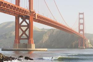 USA, California, San Francisco, Golden Gate Bridge by John & Lisa Merrill