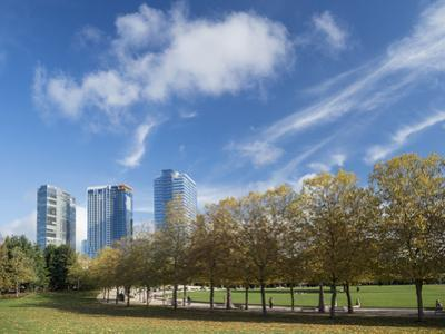 USA, Washington State, Bellevue, Bellevue Downtown Park by John & Lisa Merrill