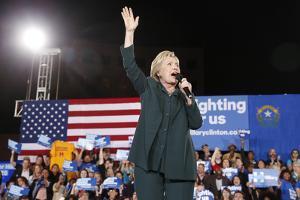 DEM 2016 Clinton by John Locher